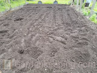 The first tilling.